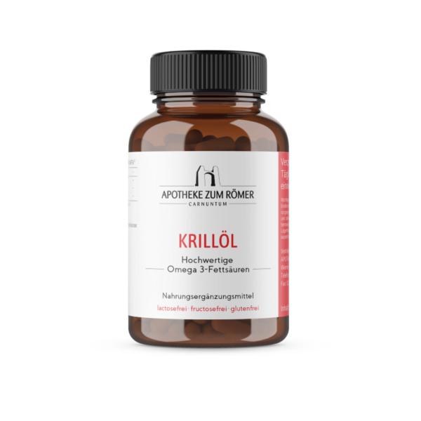Krillöl mit Omega 3 Fettsäuren